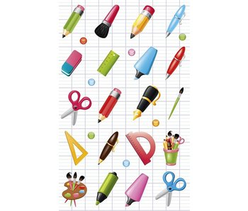 Cooky Sticker Pack: School