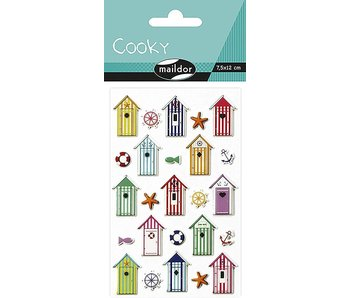Cooky Sticker Pack: Cabins