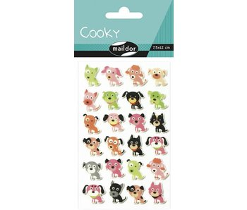 Cooky Sticker Pack: Dogs