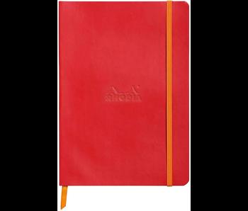 Rhodia Rhodiarama Notebook 5.5x8.3 PoppyDot Grid