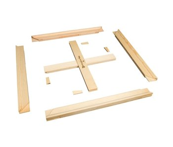 MASTERPIECE STRETCHER BAR PAIR & CROSS BRACE KIT: 24""