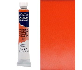 COTMAN WATERCOLOUR 8ML CADMIUM RED LIGHT