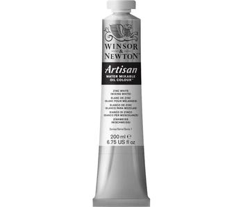 W&N ARTISAN OIL 200ML ZINC WHITE