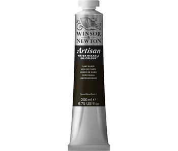 W&N ARTISAN OIL 200ML LAMP BLACK