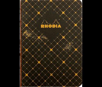 Rhodia HERITAGE Notebook 5.5x8 Black Chevron