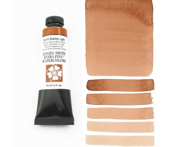 DANIEL SMITH XF WATERCOLOR 15ML BURNT SIENNA LIGHT