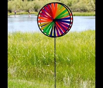 Rainbow Double Wheel Spinner