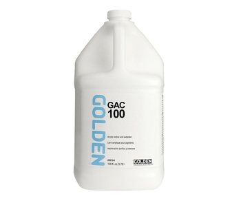 Golden Medium 128oz Gac 100 Acrylic Primer and Extender