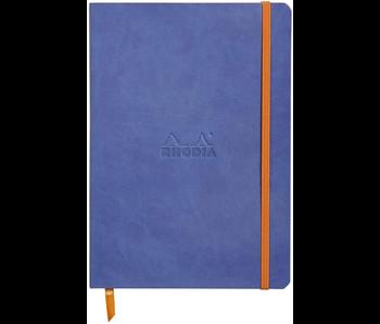 RHODIA RHODIARAMA NOTEBOOK 5.5x8.3 DOT GRID SAPPHIRE Softcover