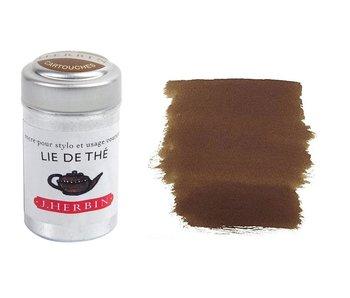 J. HERBIN FOUNTAIN PEN INK 10ML LIE DE THE TEA LAVES