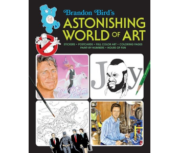 ASTONISHING WORLD OF ART ACTIVITY BOOK