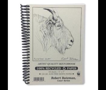 ROBERT BATEMAN RECYCLED SKETCHBOOK 5x7