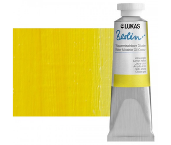 LUKAS BERLIN OIL 37ML LEMON YELLOW PRIMARY