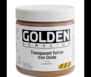 Golden 16oz Transparent Yellow Iron Oxide Series 3