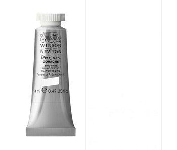 W&N DESIGNERS GOUACHE 14ML ZINC WHITE