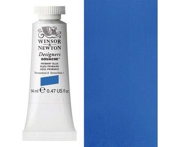 W&N DESIGNERS GOUACHE 14ML PRIMARY BLUE (CMYK CYAN)