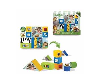 IT'S A JUNGLE IN MY ROOM! MUSICAL BLOCKS (15 PIECES)