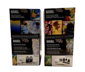 LIQUITEX COLLAGE & PHOTO TRANSFER CUBE