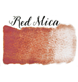 STONEGROUND PAINT HALF PAN RED MICA