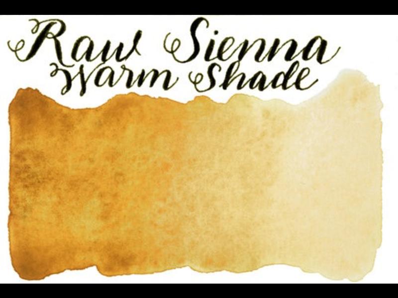 STONEGROUND PAINT HALF PAN RAW SIENNA WARM SHADE