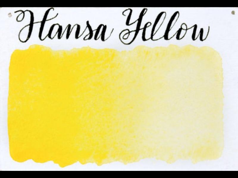 STONEGROUND PAINT HALF PAN HANSA YELLOW