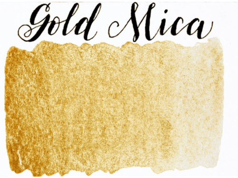 STONEGROUND PAINT HALF PAN GOLD MICA