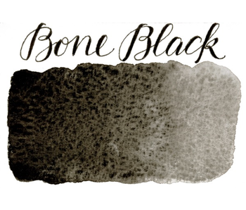 STONEGROUND PAINT HALF PAN BONE BLACK
