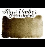 STONEGROUND PAINT HALF PAN RAW UMBER GREEN SHADE