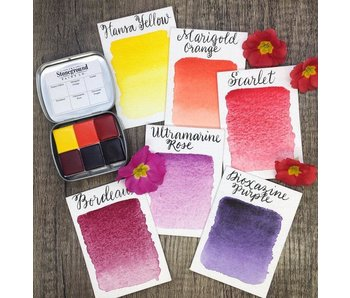 STONEGROUND PAINT SMALL PALETTE BOTANICAL WARM #1