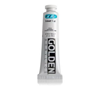 Golden 2oz Cobalt Teal Heavy Body Series 7