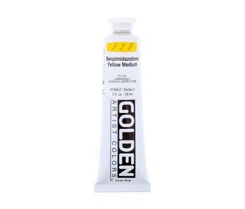 Golden 2oz Benzimidazolone Heavy Body Yellow Medium, Series 3