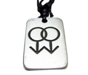 GAY MALE SYMBOL PENDANT