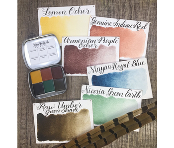 STONEGROUND PAINT SMALL Prairie Earth Palette