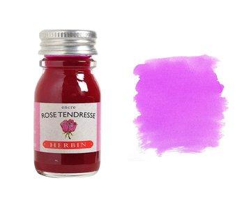 J. HERBIN FOUNTAIN PEN INK 10ML ROSE TENDRESSE/PINK