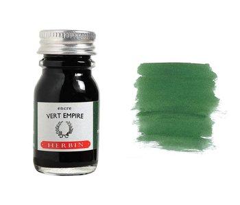 J. HERBIN FOUNTAIN PEN INK 10ML VERT EMPIRE/EMPIRE GREEN
