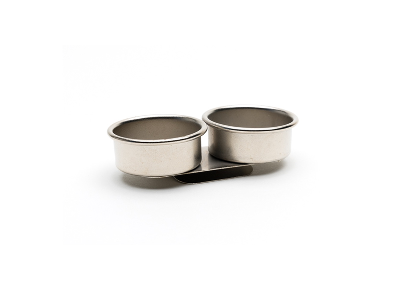 DOUBLE METAL CUP