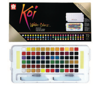 SAKURA KOI WATERCOLORS STUDIO SSET 72 COLORS