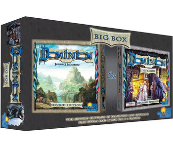 DOMINION: BIG BOX 2ND EDITION BOARDGAME (INCLUDES INTRIGUE)