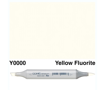 COPIC SKETCH Y0000 YELLOW FLUORITE