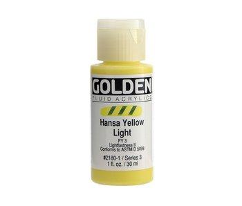 Golden 1oz Fluid Hansa Yellow Light Series 3