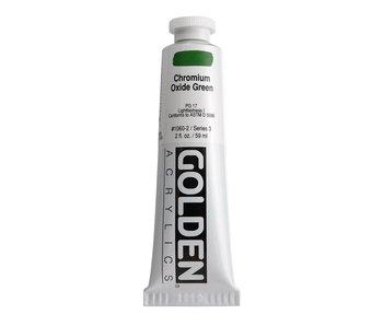 Golden 2oz Chromium Oxide Green Heavy Body Series 3