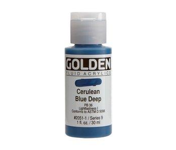Golden 1oz Fluid Cerulean Blue Deep Series 9