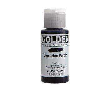 Golden 1oz Fluid Dioxazine Purple Series 6