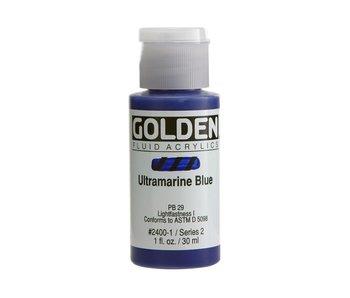 Golden 1oz Fluid Ultramarine Blue Series 2