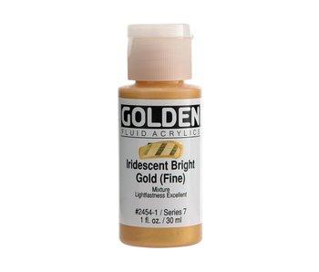 Golden 1oz Fluid Iridescent Bright Gold (Fine) Series 7