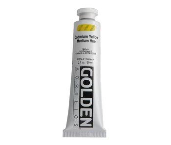 Golden 2oz Cadmium Yellow Medium Hue Heavy Body Series 4