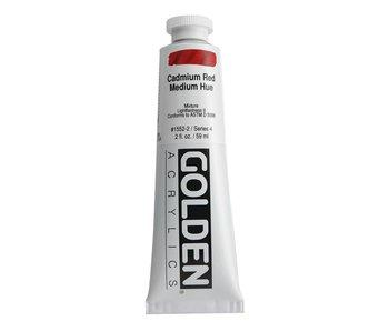 Golden 2oz Cadmium Red Medium Hue Heavy Body Series 4