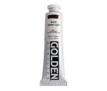 Golden 2oz Burnt Umber Light Heavy Body Series 1
