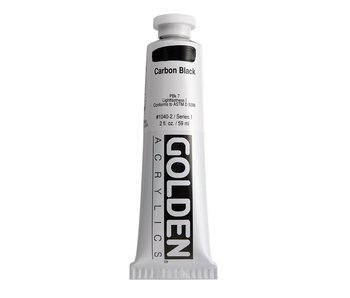Golden 2oz Carbon Black Heavy Body Series 1