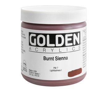 Golden 16oz Burnt Sienna Heavy Body Series 1